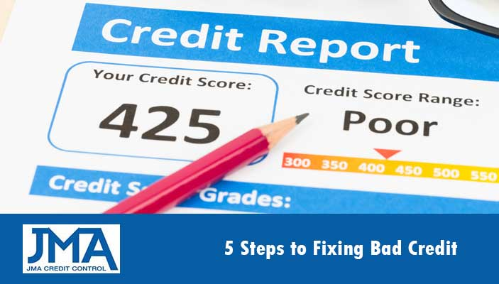 5-Steps-to-Fixing-Bad-Credit